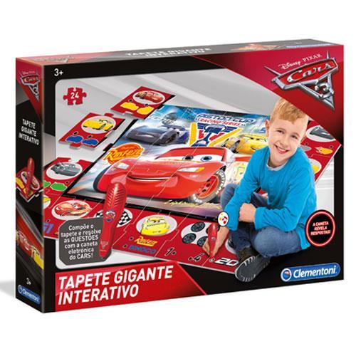Tapete Gigante Interativo Cars 3