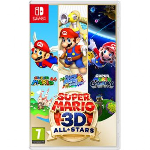 Jogo Nintendo Switch Super Mario 3D All Stars