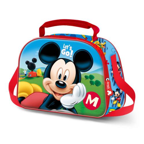 """Lancheira Térmica """"Let's Go!"""", Mickey"""