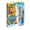 "Puzzle 30 Peças Measure Me ""Disney Mickey and The Roadster Racers"""