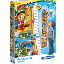 """Puzzle 30 Peças Measure Me """"Disney Mickey and The Roadster Racers"""""""