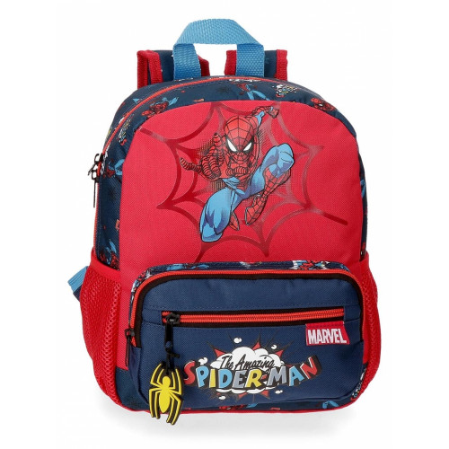 "Mochila Pré-escolar ""Pop"" Spiderman"