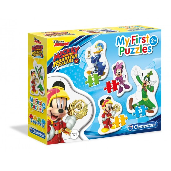 """O Meu Primeiro Puzzle """"Mickey and The Roadster Racers"""""""