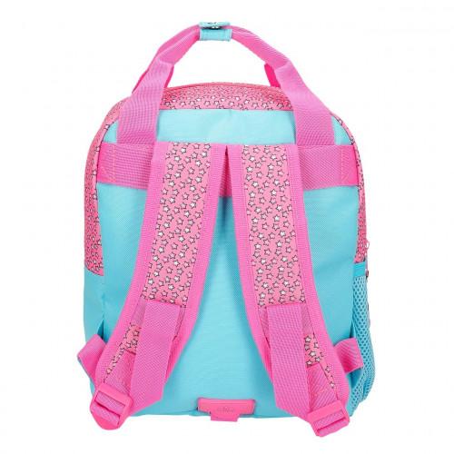 "Mochila Pré-escolar ""Pink Vibes"", Minnie"