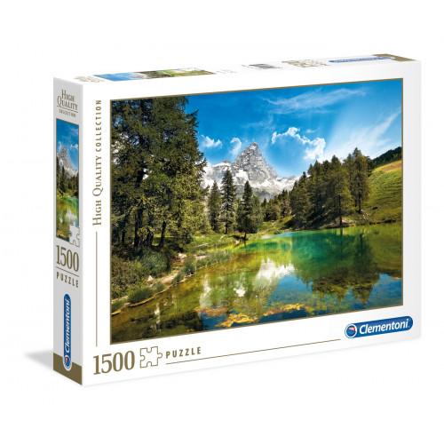 """Puzzle 1500 Peças """"Blue Lake"""""""