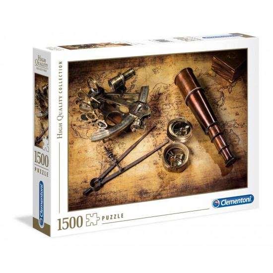 "Puzzle 1500 Peças ""Course to the treasure"""