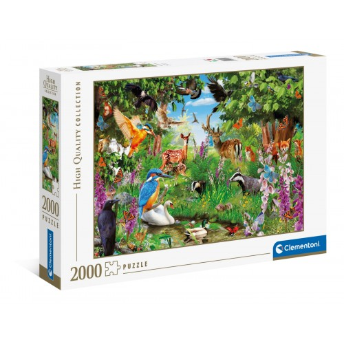 """Puzzle 2000 Peças """"Fantastic Forest"""""""