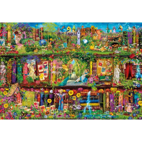 """Puzzle 2000 Peças """"The Garden Shelf"""""""