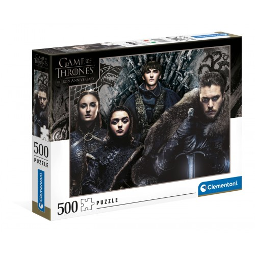 "Puzzle 500 Peças ""Game Of Thrones"""