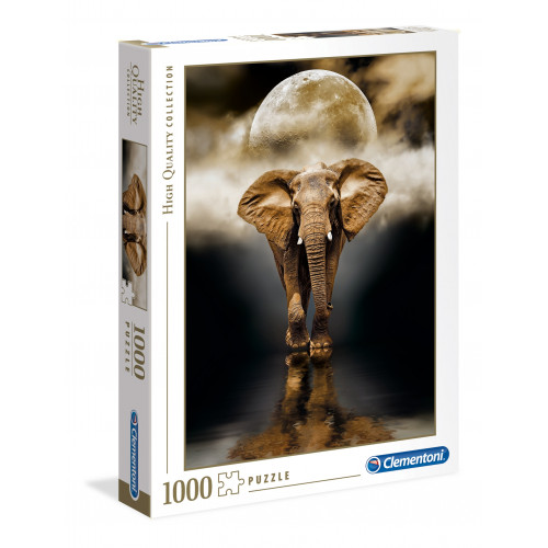 "Puzzle 1000 Peças ""The Elephant"""
