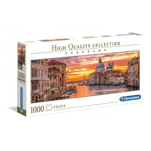 "Puzzle 1000 Peças ""The Grand Canal - Venice"" Panorama"
