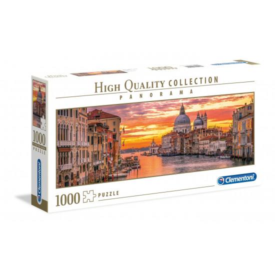 "Puzzle 1000 Peças ""The Gand Canal - Veneza"" Panorama"