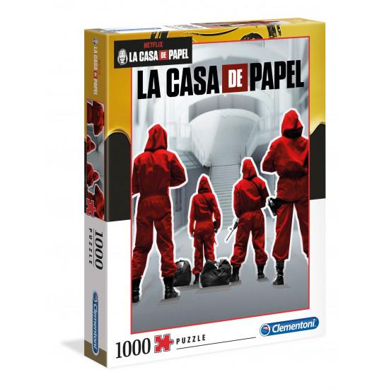 """Puzzle 1000 Peças """"La Casa de Papel"""""""
