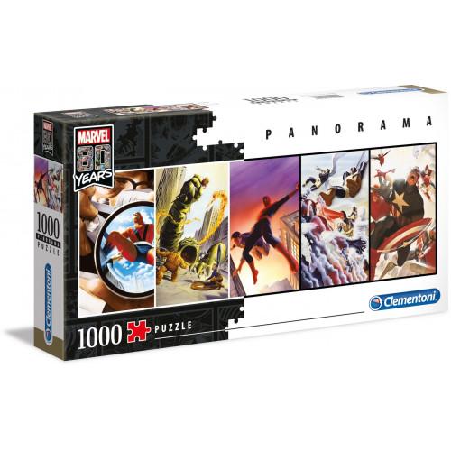 """Puzzle 1000 Peças """"Marvel"""" Panorama"""