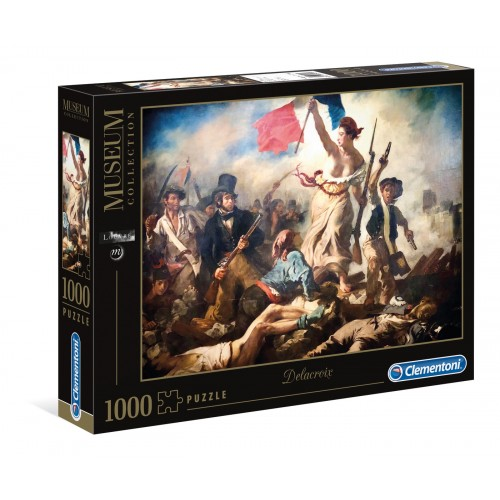 "PUZZLE 1000 PEÇAS ""Liberty Leading The People"""