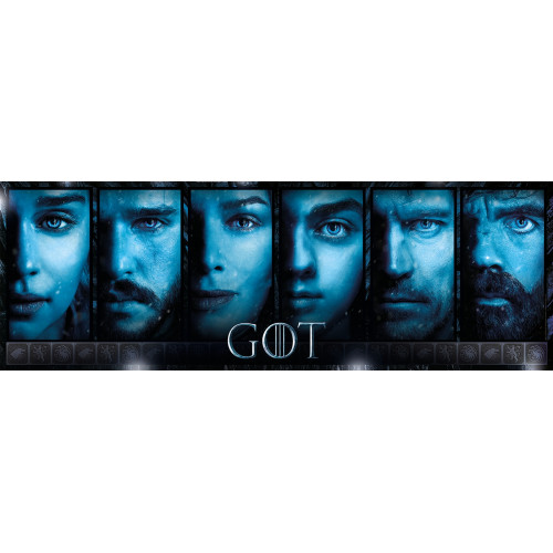 "Puzzle 1000 Peças ""Game Of Thrones"" Panorama"