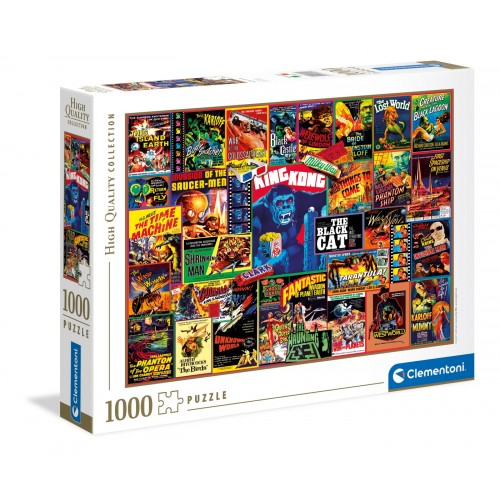 "Puzzle 1000 Peças ""Thriller Classics"""
