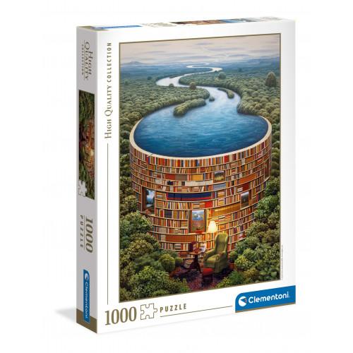 "Puzzle 1000 peças ""Bibliodame"""