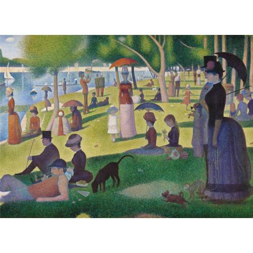 "Puzzle 1000 Peças ""Seurat : A Sunday Afternoon on the Island of La Grande Jatte"" Museum Colletion"