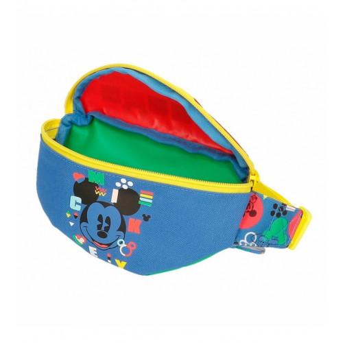 "Bolsa Cintura ""Shape"", Mickey"