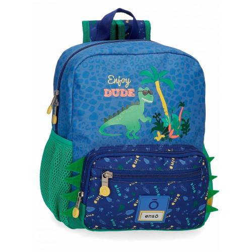 """Mochila Pré-escolar """"Dino"""", Enso"""