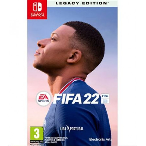 Jogo Nintendo Switch FIFA 22