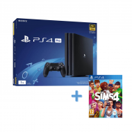 PS4 Pro + Sims 4
