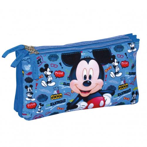 """Estojo Triplo """"Mickey Famous"""", Perona"""