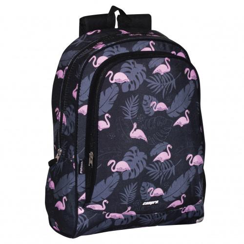 "Mochila Escolar ""Flamingo"", Perona"