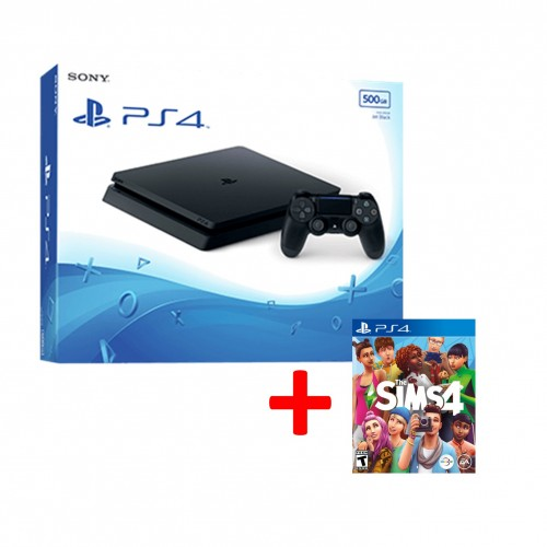 PS4 500GB + Sims 4