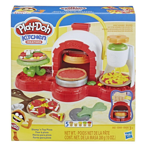 Forno de Pizza Play-doh