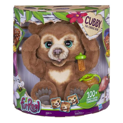 Cubby, o meu ursinho curioso