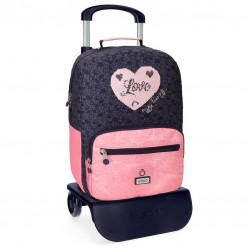 "Mochila com Trolley ""Learn"", Enso"