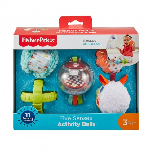 Fisher Price Bolas Cinco Sentido