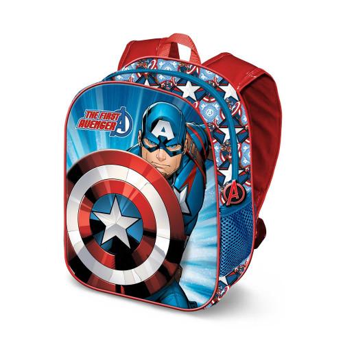 Mochila Pré-escolar Capitão América