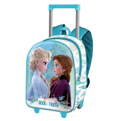 "Mochila Trolley Pré-escolar ""Seek The Truth"", Frozen"