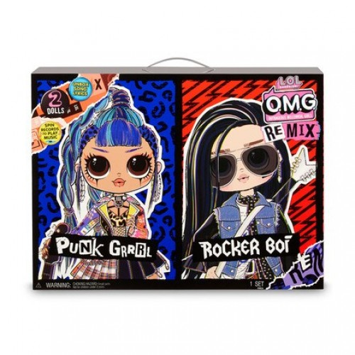 LOL Surprise! O.M.G. Remix Punk Grrrl & Rocker Boi