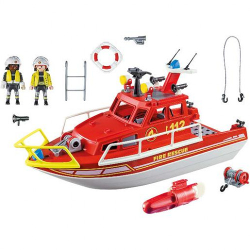 Barco de Resgate, Playmobil