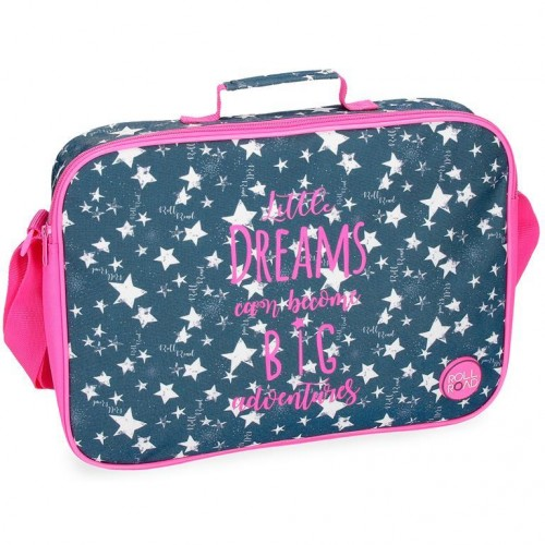 "Bolsa de computador ""Dreams Navy"", Roll Road"
